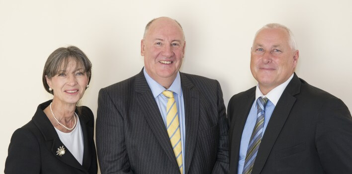 CJCH Solicitors, CJCH partners (left to right) Jacqui Seal, Stephen Clarke and Tim Hartland