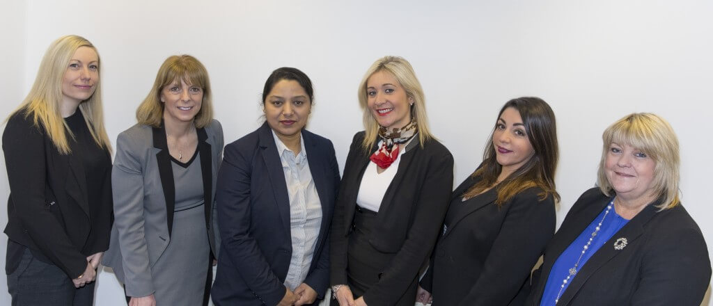 family law team at CJCH Solicitors